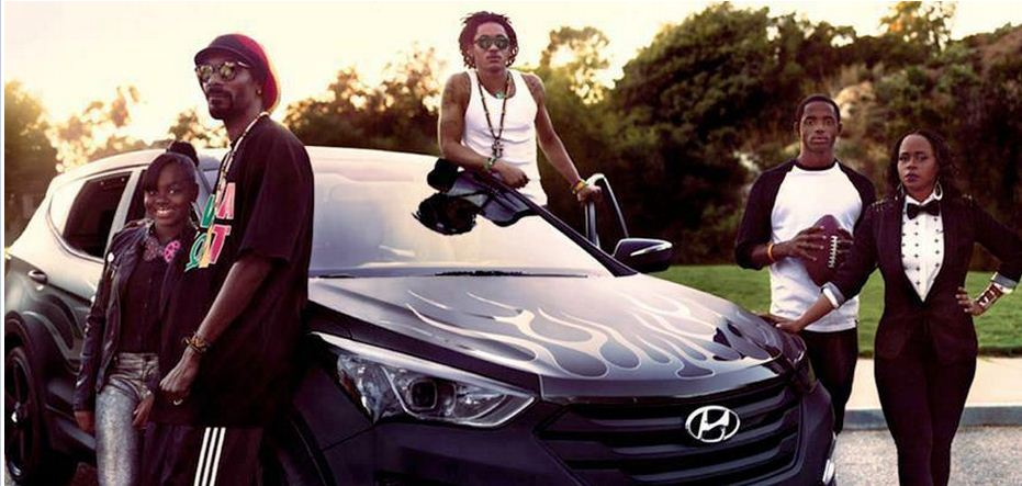 Snoop Lion and Family Rolling in a Hyundai… | AutoPulse