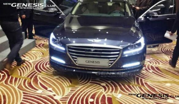 2015 Hyundai Genesis Bob Sison AutoPulse private viewing korea exterior front led