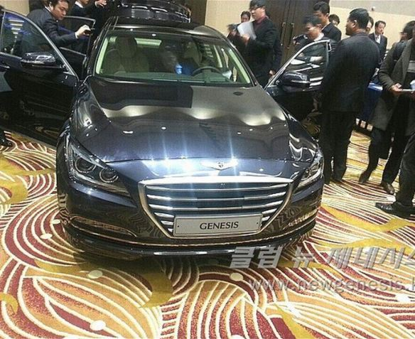 2015 Hyundai Genesis Bob Sison AutoPulse private viewing korea exterior front