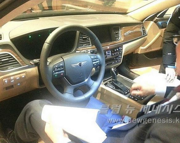 2015 Hyundai Genesis Bob Sison AutoPulse private viewing korea interior driver side